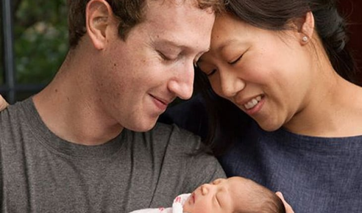 Mark Zuckerberg and Proscill Chan