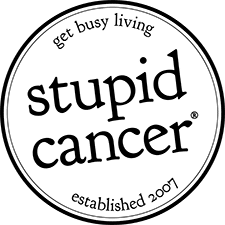 Stupid cancer logo